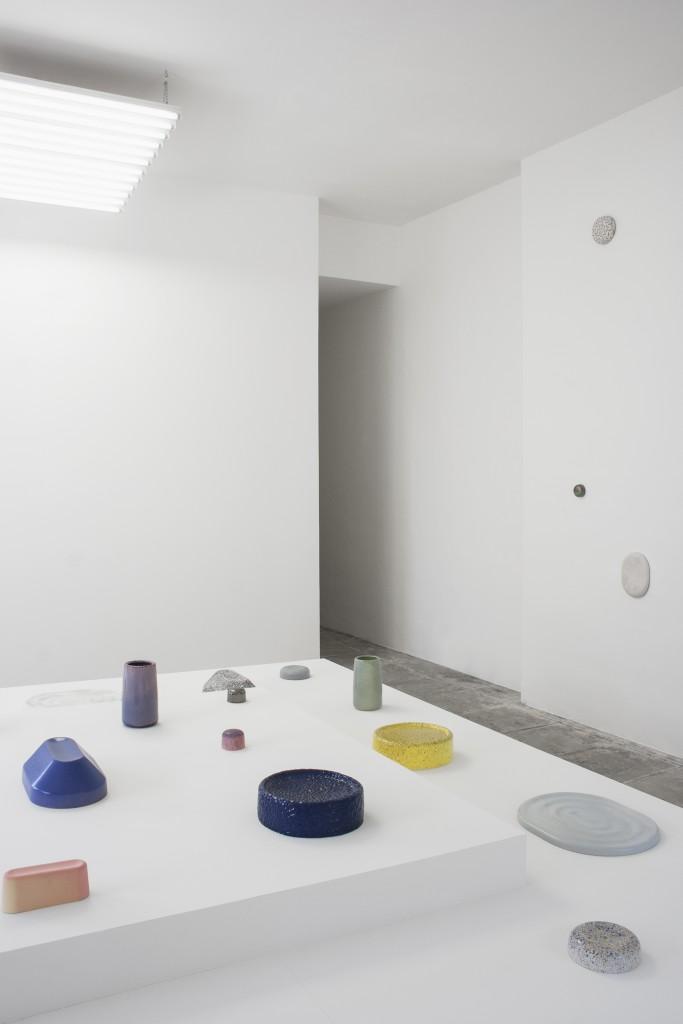 Dimitri Bähler - VPTC ceramics. Installation view at Villa Noailles.