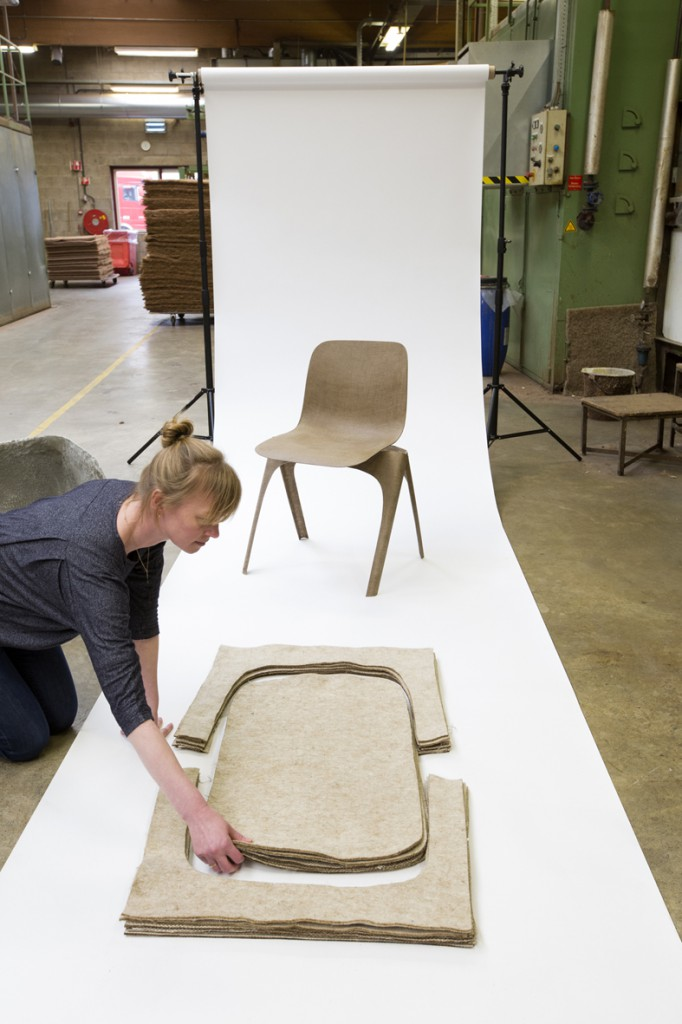 FLAX Chair by Christien Meindertsma (Product)