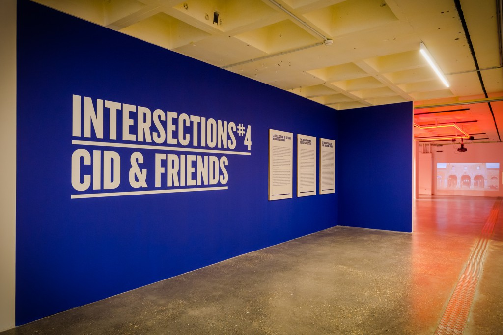 Intersections 4: CID and Friends (installation view) Photo © Didier Vandenbosch