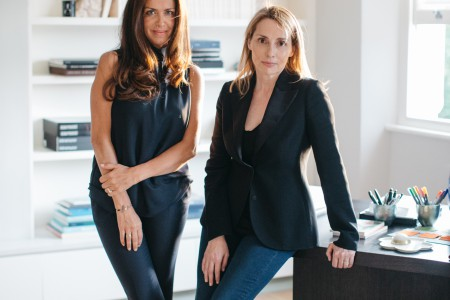 Founders of The Invisible Collection, Anna Zaoui and Isabelle Dubern.