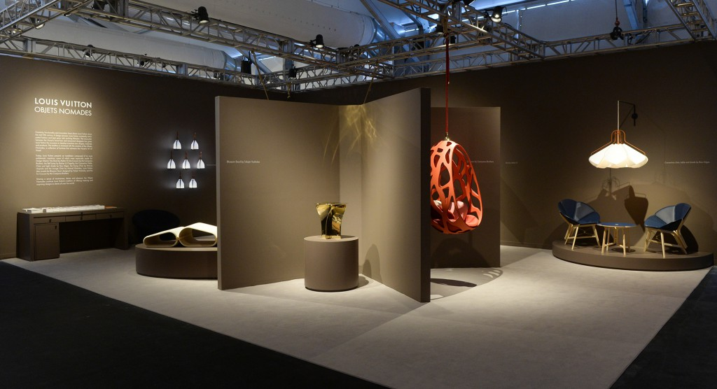 Objets Nomade installation view at Design Miami