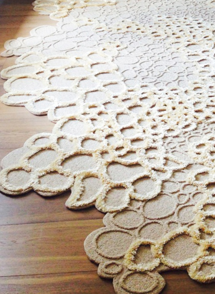 Nenuphar Rug by Fabrice Ausset