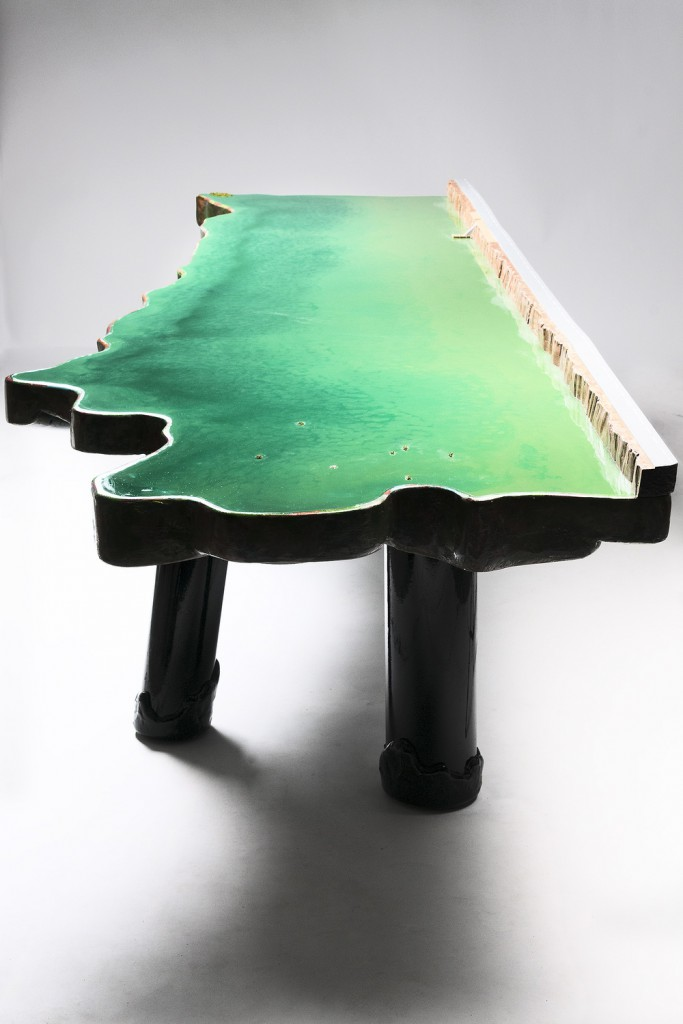 Lake Table (2012) at David Gill Gallery.