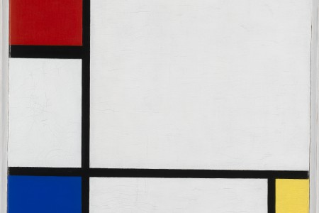 Piet Mondriaan, Composition No. IV, with Red, Blue, and Yellow, 1929, coll. Stedelijk Museum Amsterdam
