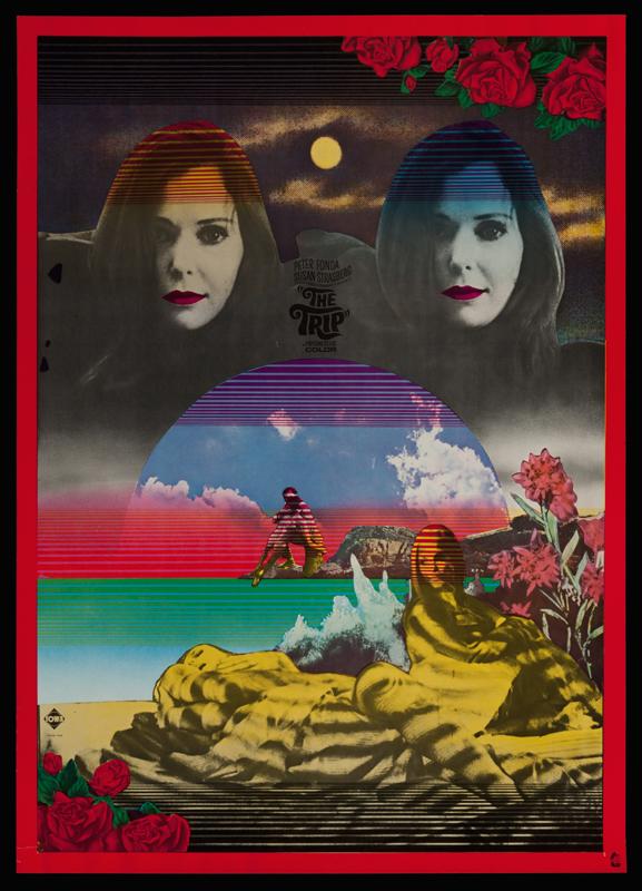 The Trip by Tadanori Yokoo (1968)