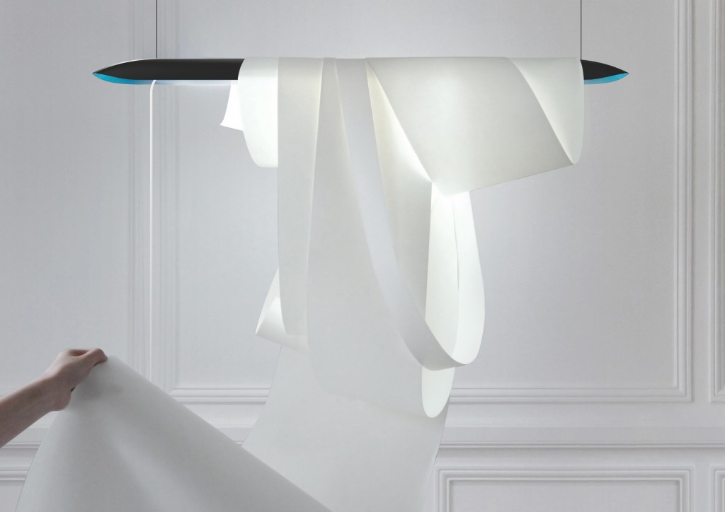 Angelin lamp prototype, 2009