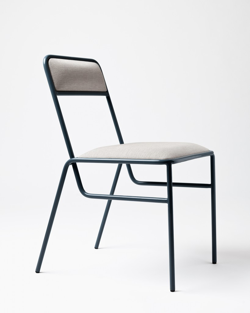 Chair 01 from Gamme Evolution with Kvadrat textile.