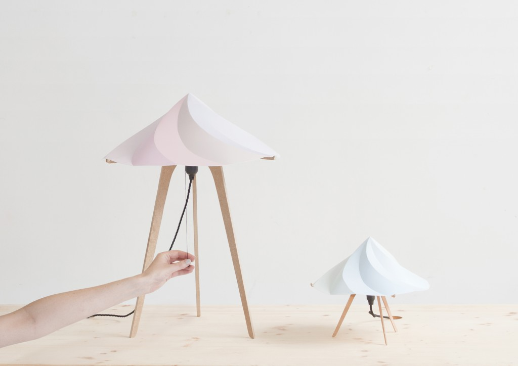 Chantilly lamps for Moustache, 2013