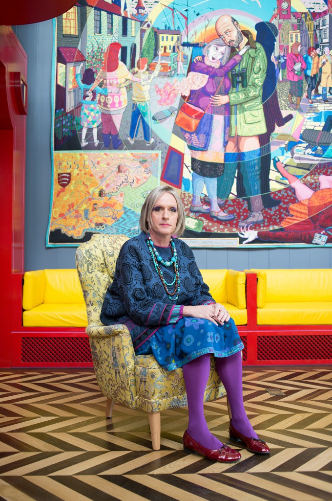 Grayson Perry. Photo: Katie Hyams and Living Architecture