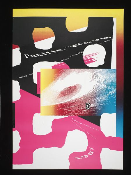 Pacific Wave by April Greiman (1989)