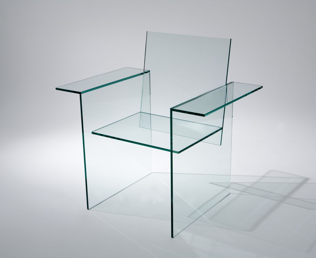 Glass Chair by Shiro Kuramata, (1976)