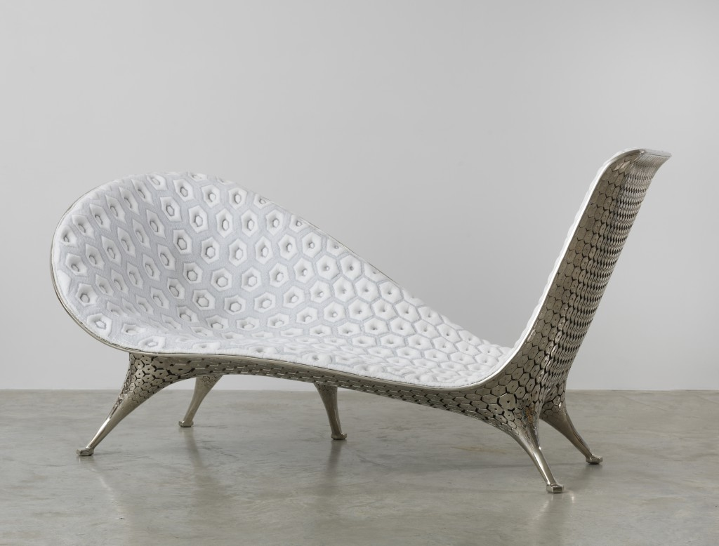 Microstructures Chaise, Photo: Adam Reich © courtesy Friedman Benda