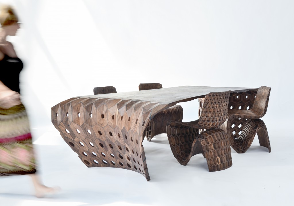 Maker Hexagon Table, Photo: Adriaan de Groot, Courtesy Friedman Benda & Joris Laarman Lab