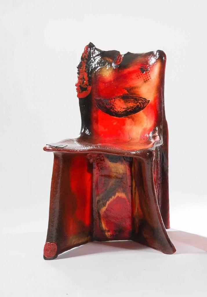 Pratt Chair by Gaetano Pesce (1984)