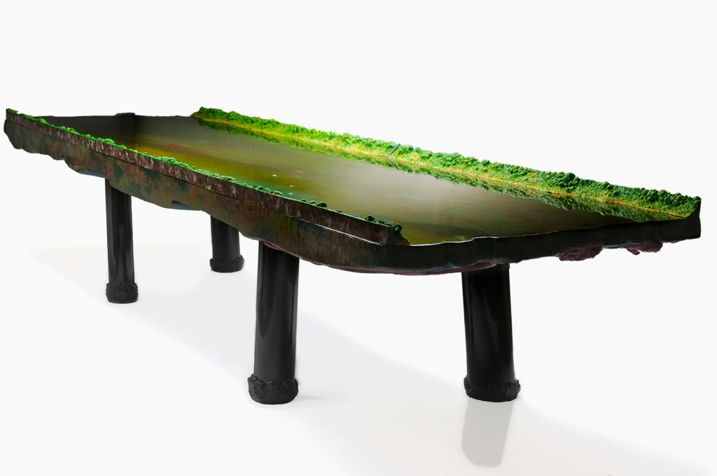 River Table (2012) at David Gill Gallery.