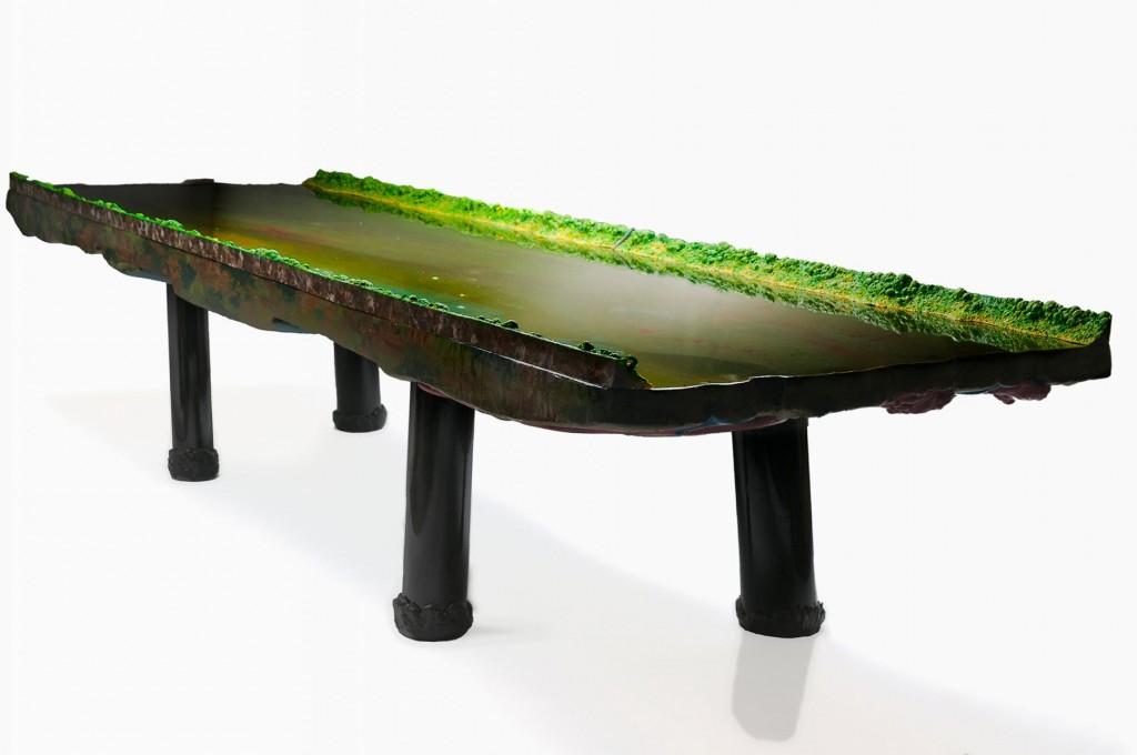 River Table (2012) at David Gill Gallery.