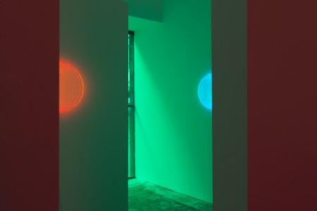 196 m³ magenta/green by Arnout Meijer Studio. Photo: Gert Jan van Rooij