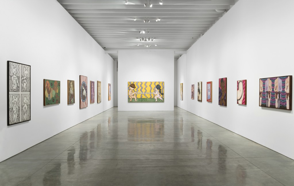 Installation view of William N. Copley: Women. Photo: Diego Flores / Paul Kasmin Gallery