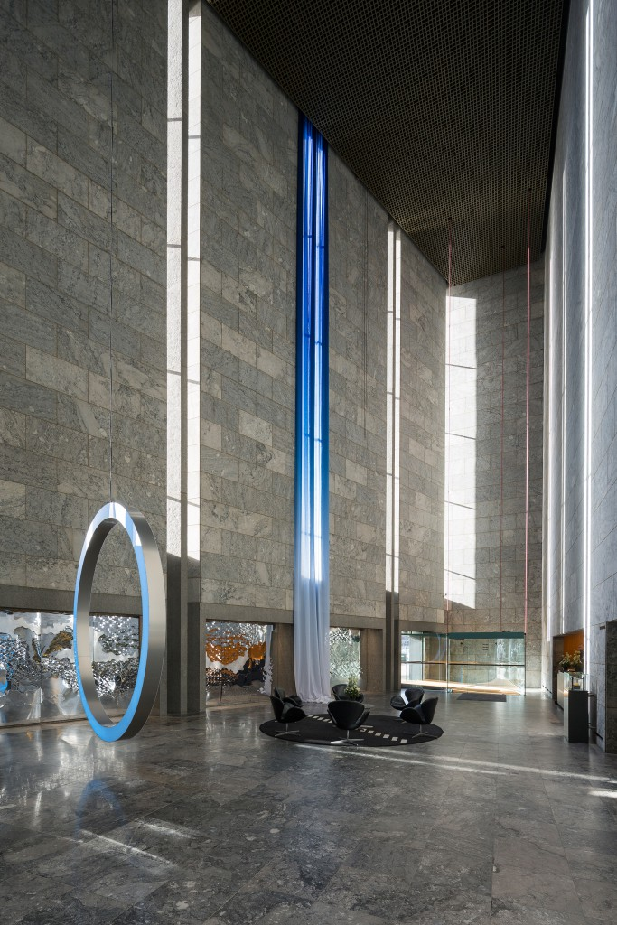 Installation National Bank. Photo: Torben Eskerod
