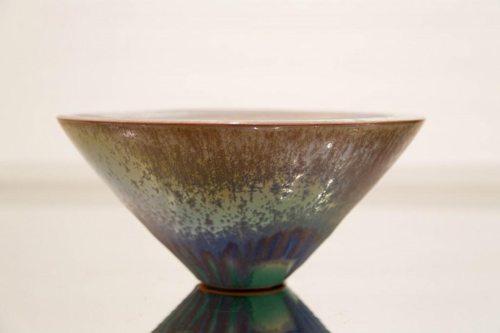 Pot bleu vert: dimensions 13 x 28 cm/ 1980