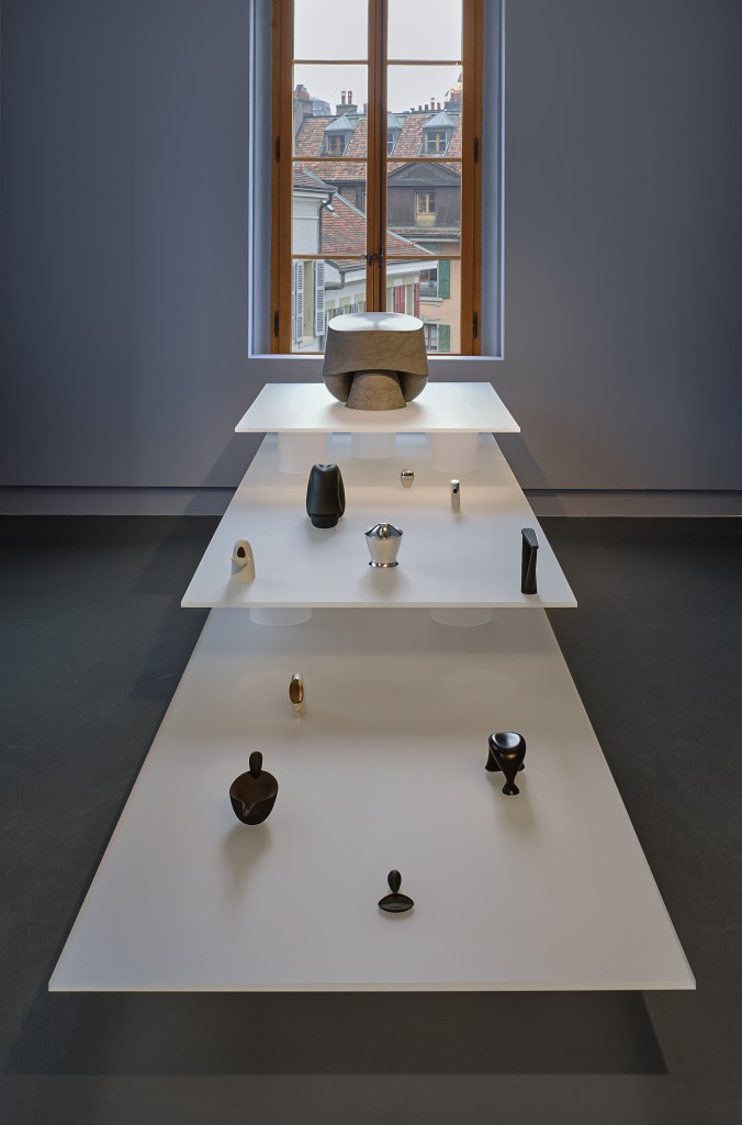 Installation view of PAUSE at Lausanne mudac. Photo: David Gagnebin-de Bons