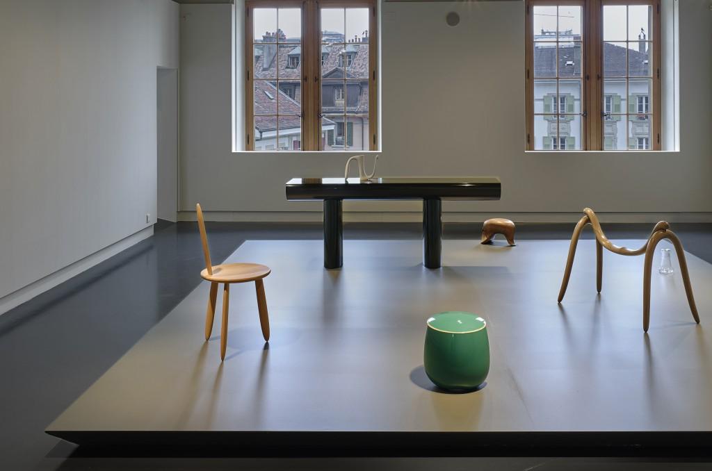 Installation view of PAUSE at Lausanne mudac. Photo: David Gagnebin-de Bons