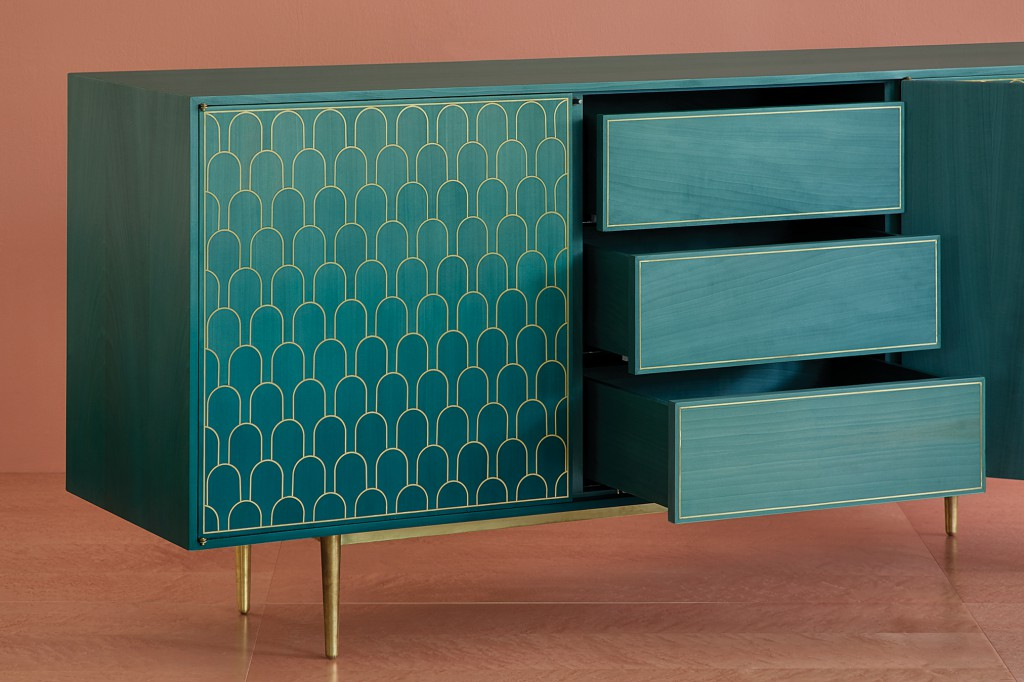 Nizwa three-door cabinet by Bethan Gray