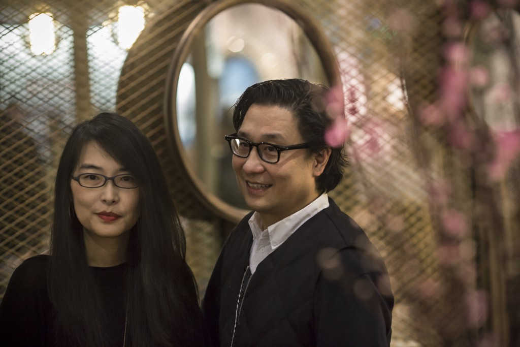 Rosanna Hu and Lyndon Neri at Milan Design Week 2016