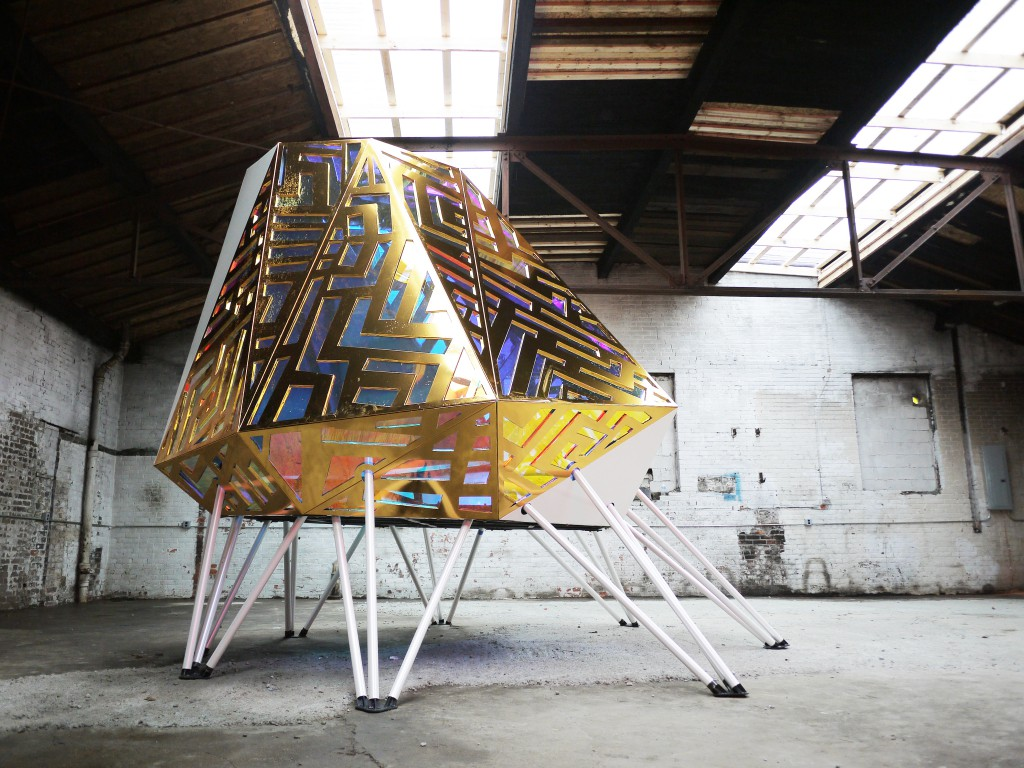 Mothership by Jean Louis Farges for Shiftspaces