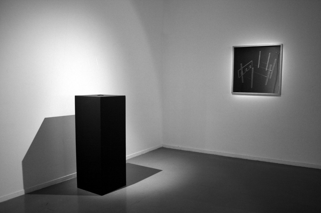 Mag-Net, sound installation and installation plan, Dynasty, Musée d'Art Moderne de la Ville de Paris, 2010. Courtesy of ADAGP / Cassière