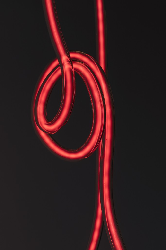 Xhosa by Gun Gordillo, Glass, Neon