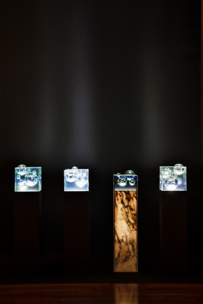 Rise & Drift by Hideki Yoshimoto in installation during Milan Design Week