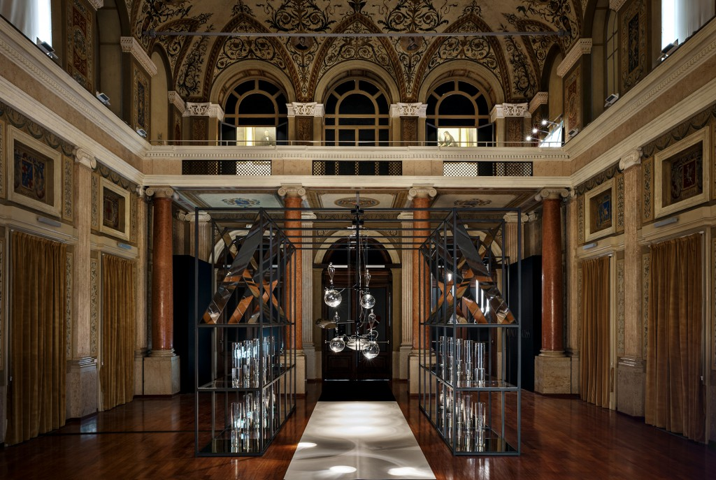 Installation during Milan Design Week