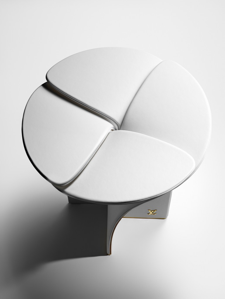Petal Stool by Tokujin Yoshioka for Louis Vuitton