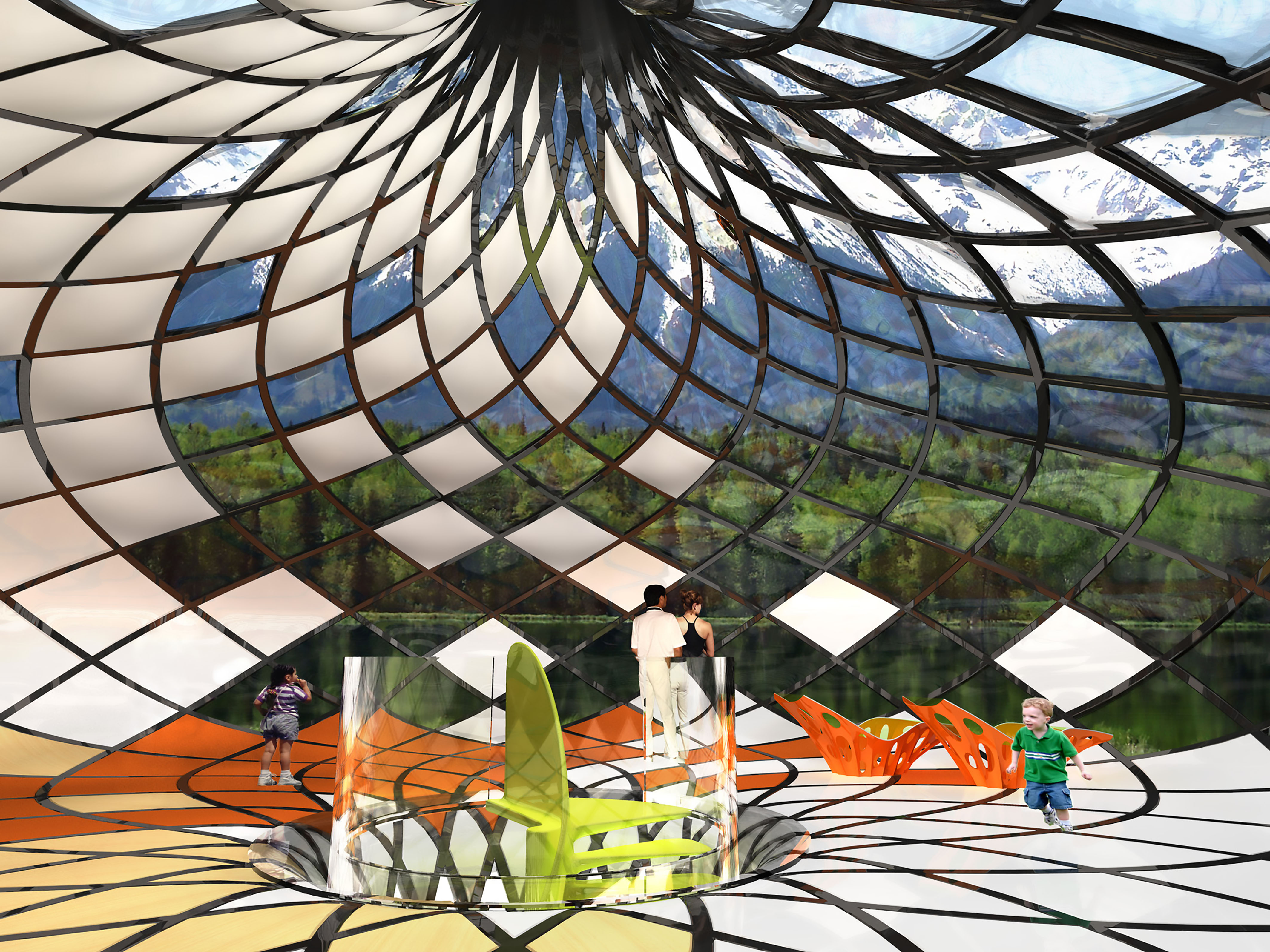 Ross lovegrove at pompidou tlmagazine for International diffusion decor