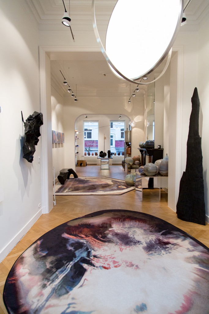 Installation view of Crystallized at Spazio Nobile until April 19