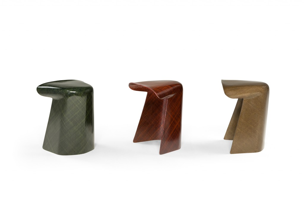 Toul stool for Saint Luc by Jorian Brand. Photo: Marie Flores