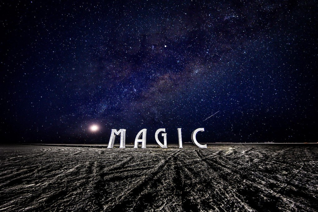 """MAGIC"" at Burning Man 2016, Photo: Peter Ruprecht"