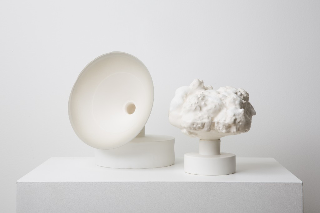 Objects, 2013 - 2012, bone china, parian, courtesy Officine Saffi