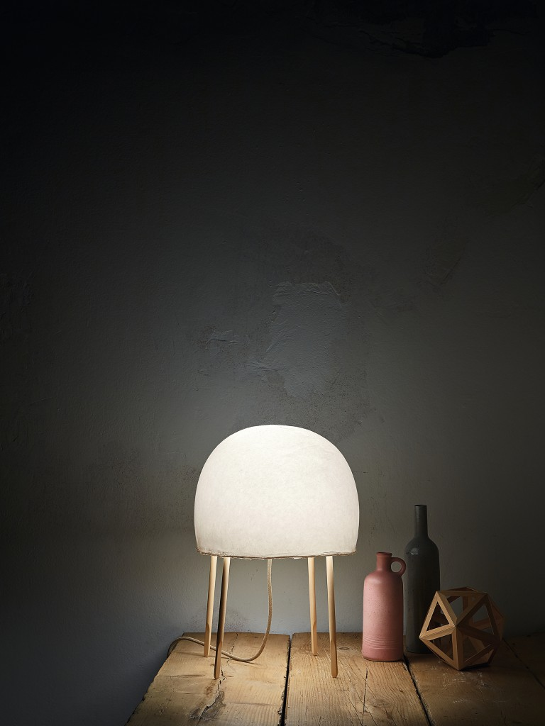 Kurage light for Foscarini by Luca Nichetto and Nendo. Photo: Kasia Gatkowska