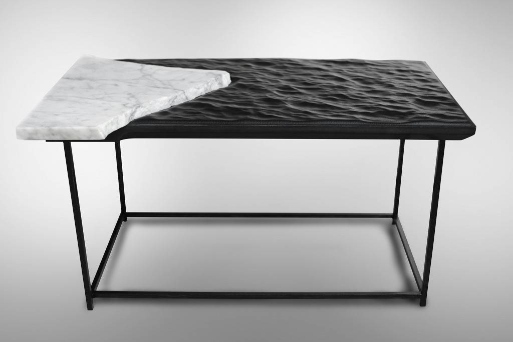 Mer Noire Cliff Edition table by Damien Gernay. Photo: Bruno Timmermans
