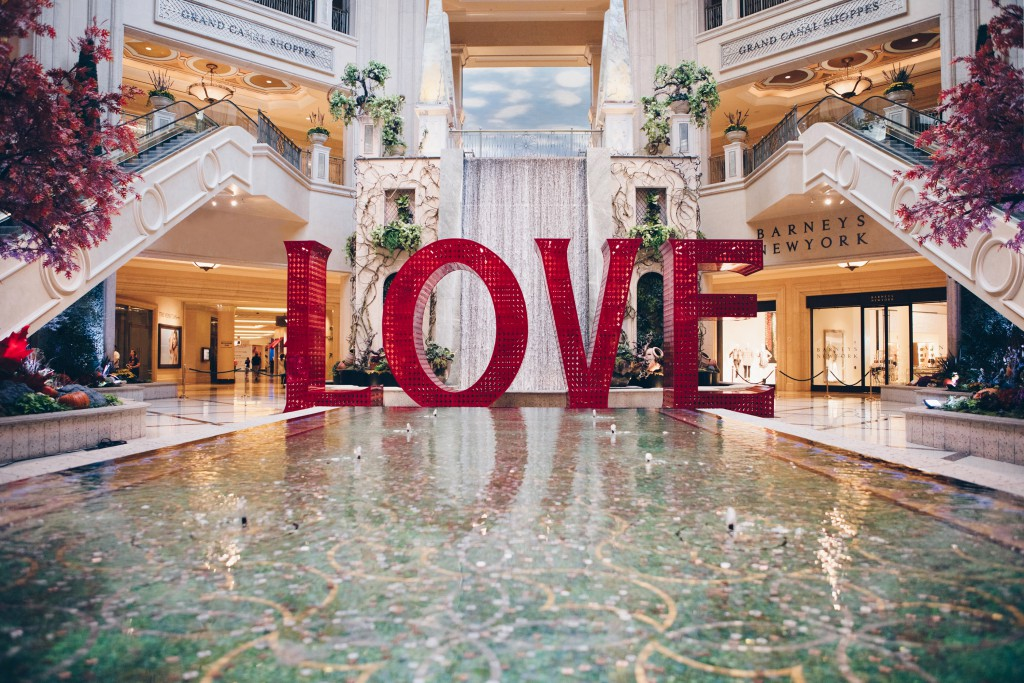 """LOVE"" at The Venetian in Las Vegas, Nevada, Photo: Peter Ruprecht"