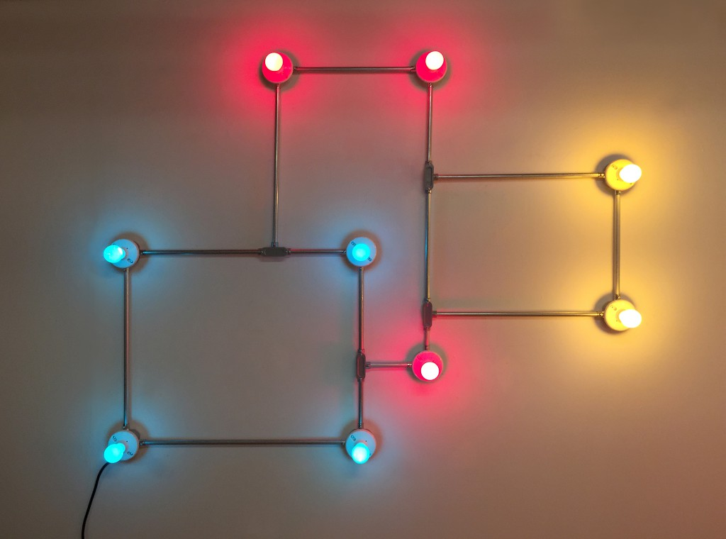Conduits in Red Yellow and Blue (figure 65), 2016, Courtesy the Artist, Photo:  Cecilia Jurado