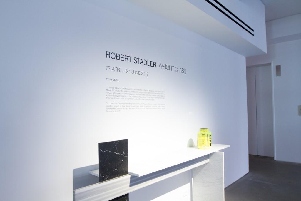 Robert Stadler: Weight Class