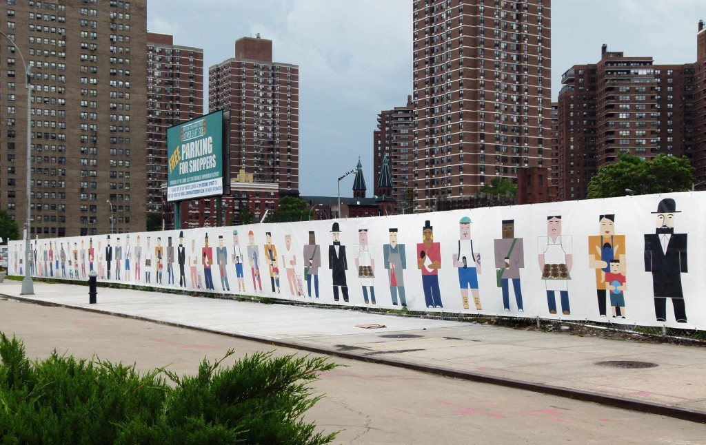 Lower East Side History Fence, 2014