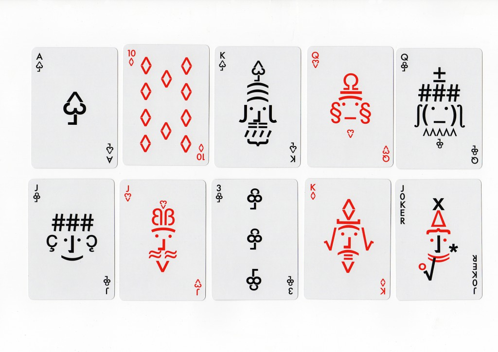 Cooper Hewitt Souvenirs Collection (Playing cards), 2015. Produced by Cooper Hewitt Museum.