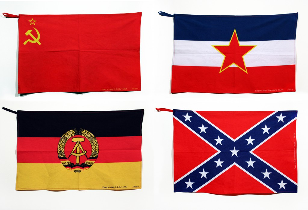 Flags to Rags kitchen towels, 2015