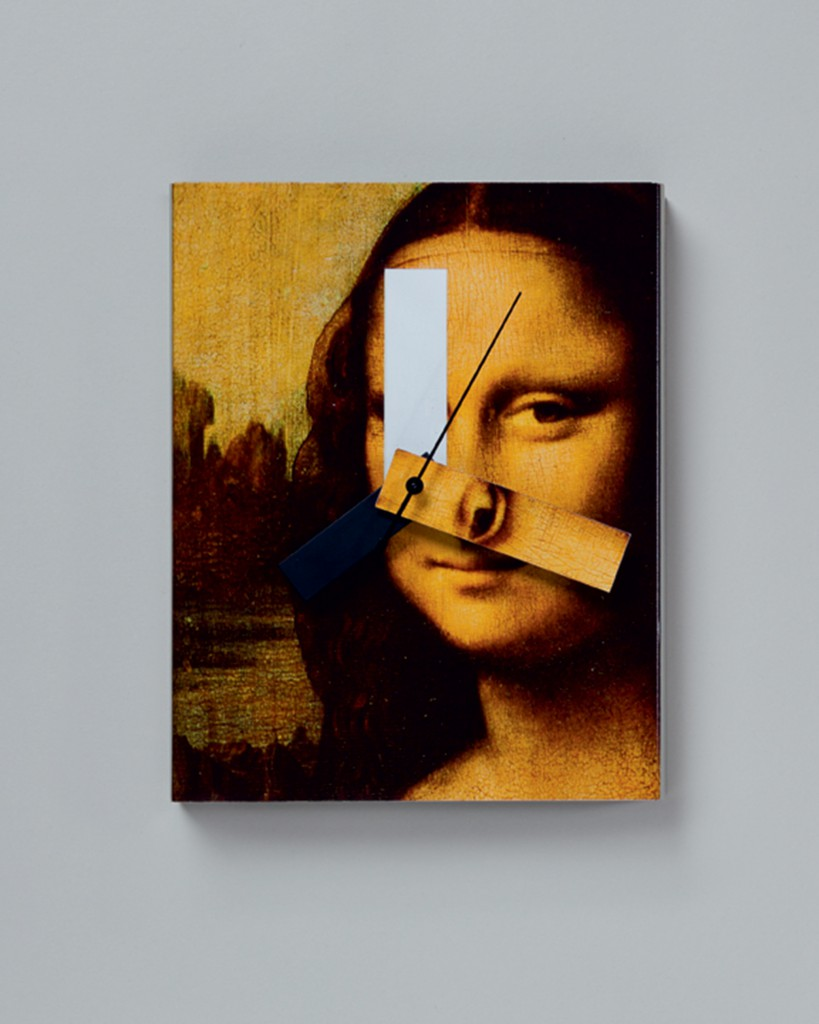 Mona Lisa Clock, 1989. Currently produced by Kikkerland. Photo Antoine Bootz