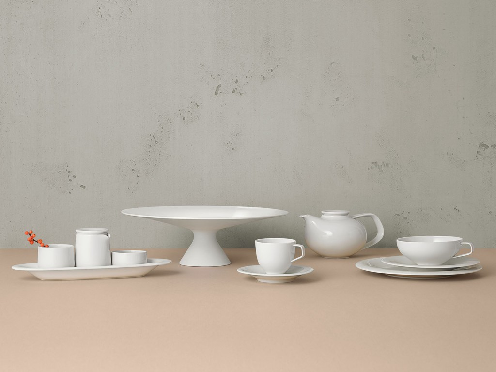 Fluen porcelain table service for Fürstenberg, 2017