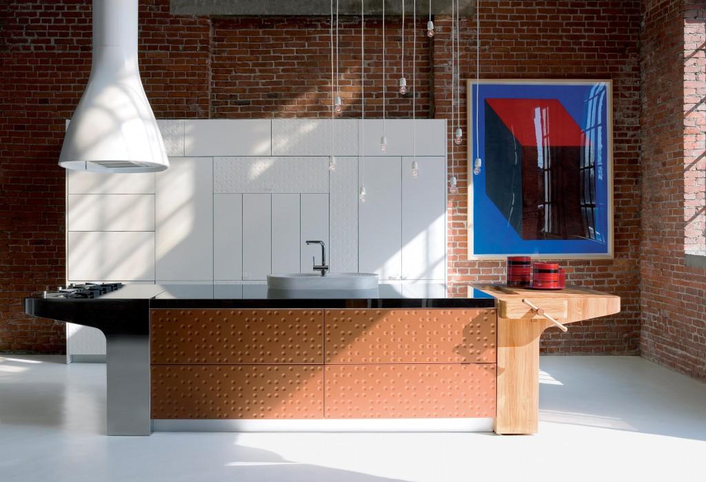 Mesa kitchen for Schiffini (2015)